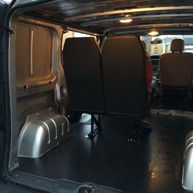 Renault Trafic Newbie Intro Van Lining Help Vauxhall Owners Network Forum